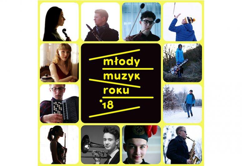 Na zdjęciu: Plakat konkursu Młody Muzyk Roku