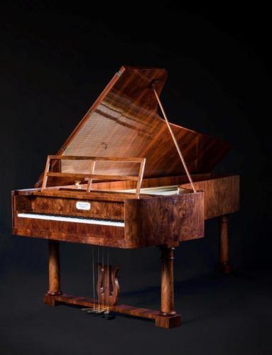 Na zdjęciu: Fortepian Chopina