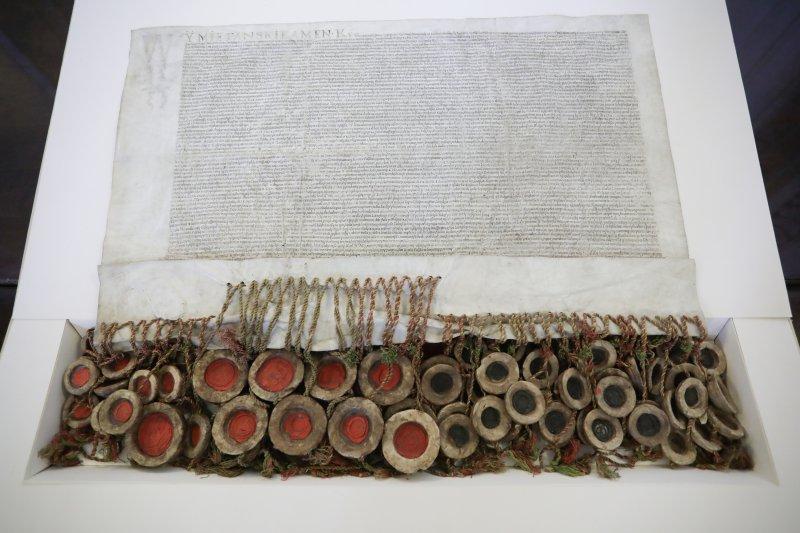 Na zdjęciu: Prezentacja Aktu Unii Lubelskiej