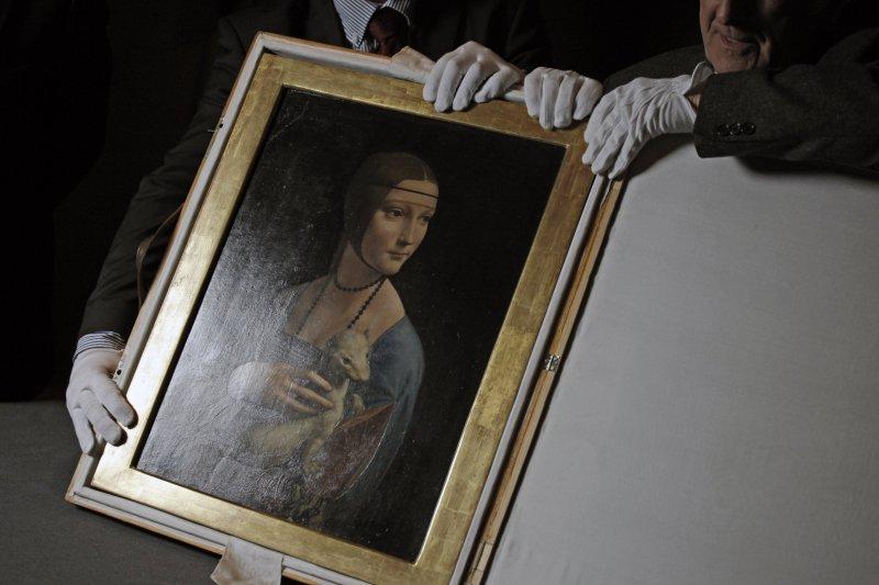 Na zdjęciu: Obraz z kolekcji Czartoryskich