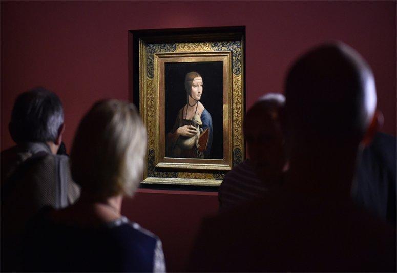 Na zdjęciu: Dama z gronostajem
