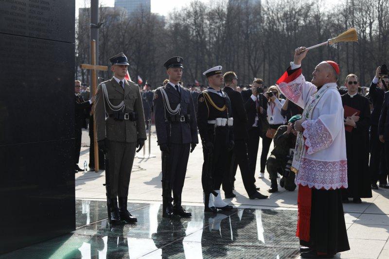 Na zdjęciu: uroczystości na Placu Piłsudskiego