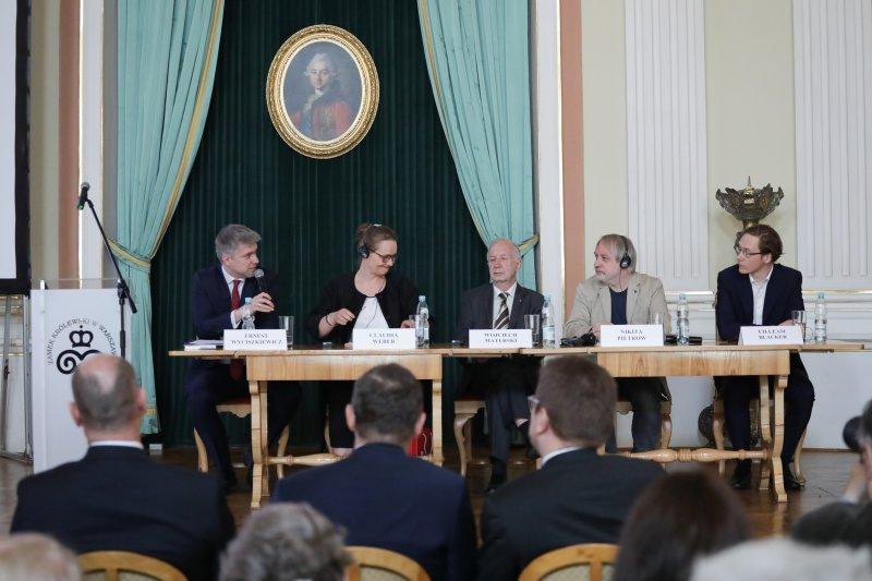 na zdjęciu Konferencja Zbrodnia Katyńska. 75 lat walki o prawdę autor zdjęcia: Danuta Matloch