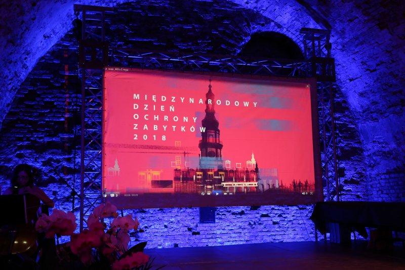 Na zdjęciu: Gala konkursu Zabytek Zadbany 2018