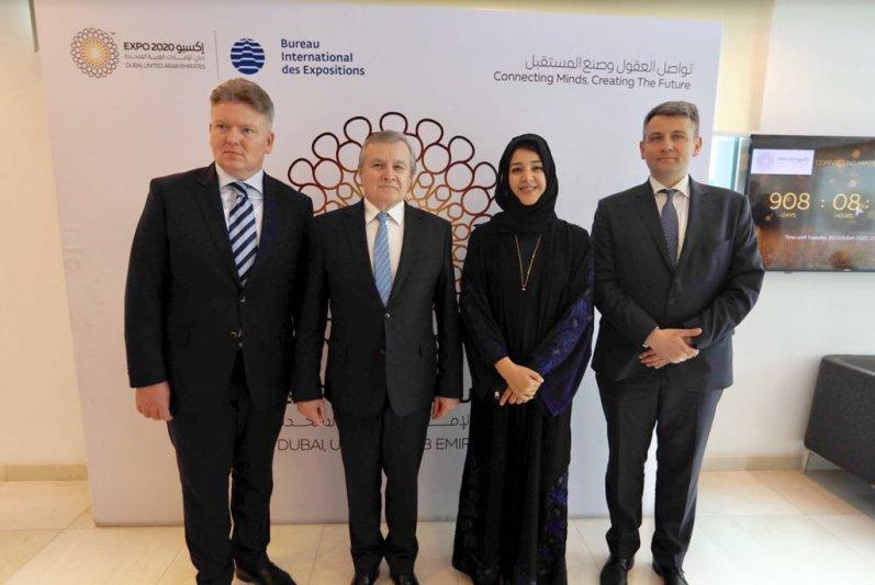 Na zdjęciu: Spotkanie ministrów kultury Polski i Zjednoczonych Emiratów Arabskich