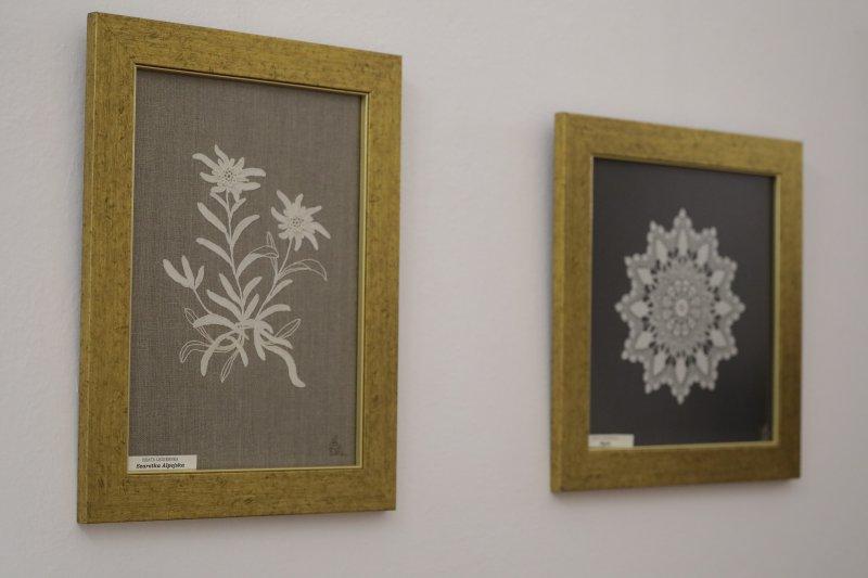 na zdjęciu Wernisaż wystawy koronki koniakowskiej w Ministerstwie Kultury. autor zdjęcia: Danuta Matloch