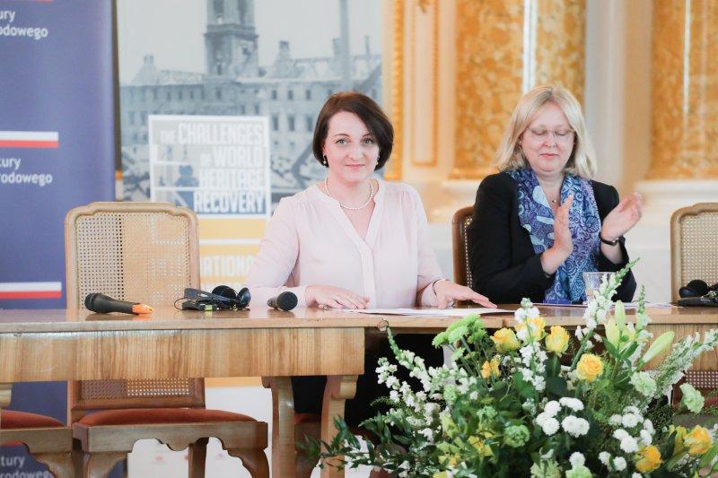 Na zdjęciu: Podsekretarz Stanu Magdalena Gawin