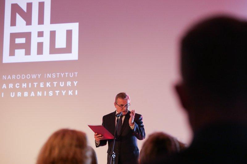 Na zdjęciu: Uroczystość otwarcia Narodowego Instytutu Architektury i Urbanistyki