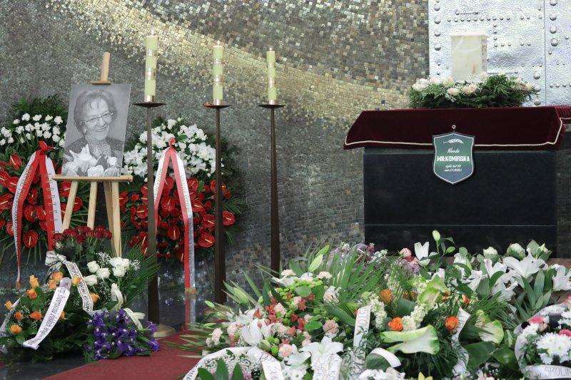 Na zdjęciu: Pogrzeb Wandy Wiłkomirskiej