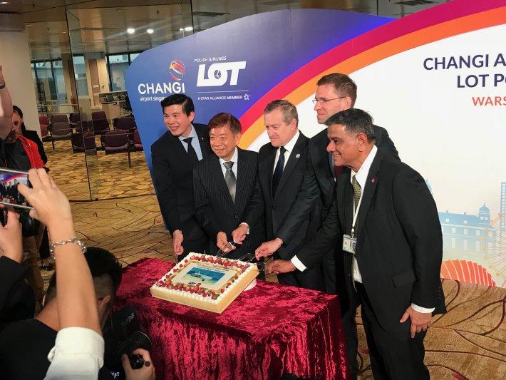 Na zdjęciu: Wicepremier Piotr Gliński w Singapurze