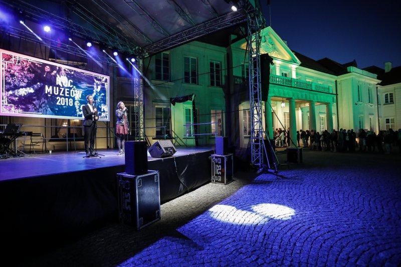na zdjęciu Noc Muzeów w MKiDN autor zdjęcia Danuta Matloch