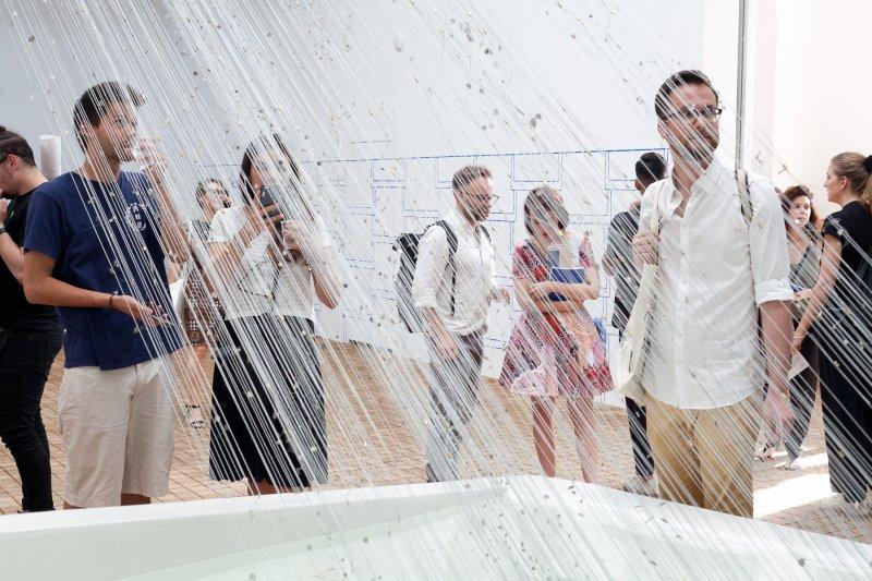 Na zdjęciu: Otwarcie PAWILONU POLONIA w WENECJI