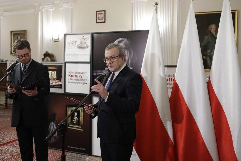 David Pountney otrzymuje Polskie obywatelstwo