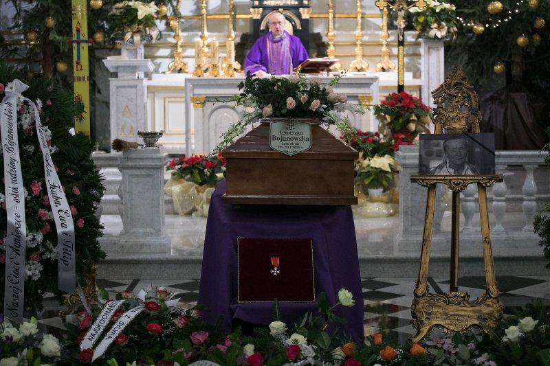 Ostatnie pożegnanie Agnieszki Bojanowskiej