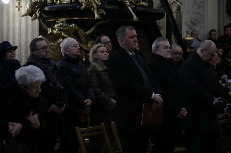 Pogrzeb Prof Mieczysława Tomaszewskiego