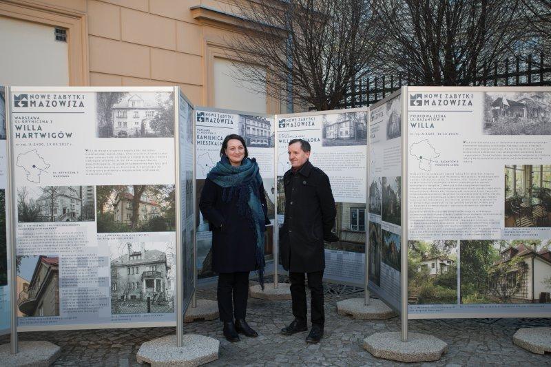 Nowe zabytki Mazowsza Wystawa