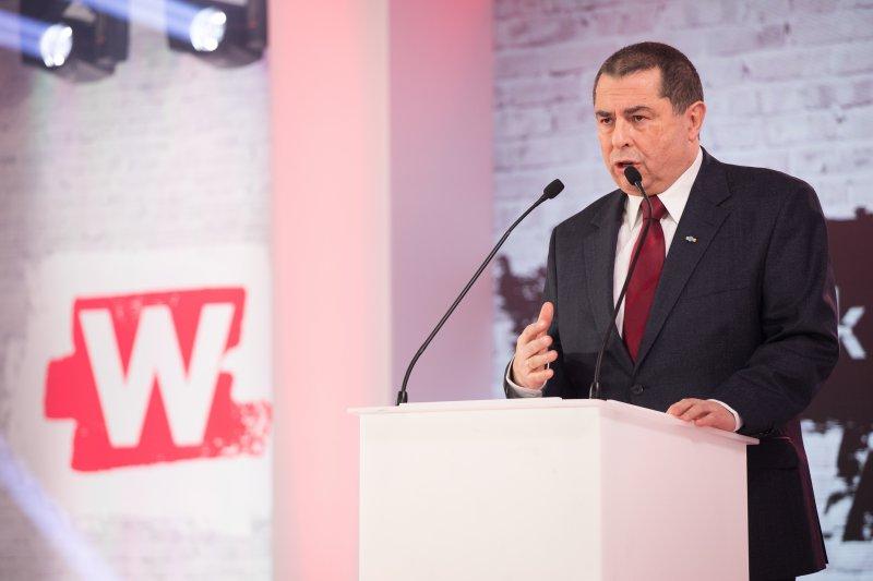 Wicepremier prof Piotr Gliński odbiera nagrodę Człowieka Wolności