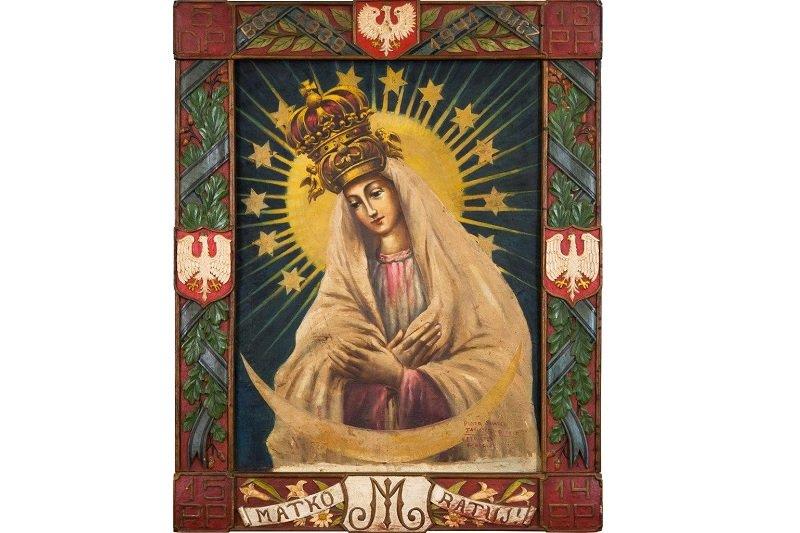 na zdjęciu obraz Matki Boskiej Tatiszczewskiej
