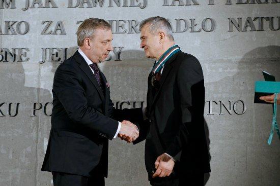Złoty Medal Gloria Artis dla Olgierda Łukaszewicza. Fot. Danuta Matloch