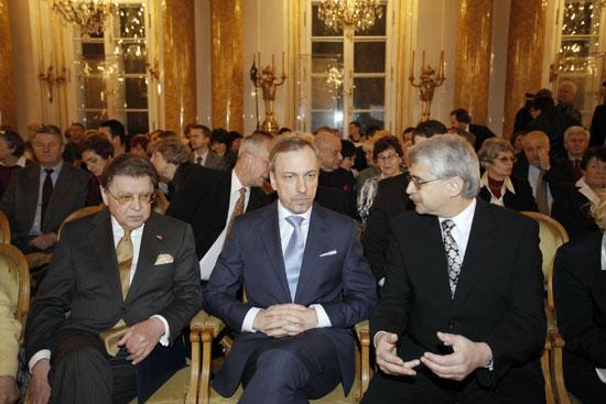 Uroczystośc wręczenia Nagrody im. Gieysztora, Zamek Królewski, 1 lutego 2011r.