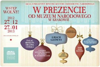 Muzeum Narodowe w Krakowie przez miesiąc za darmo