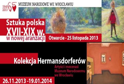 Dwa wernisaże w Muzeum Narowodym we Wrocławiu