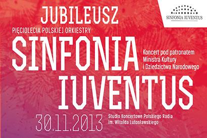 Plakat: Jubileusz Sinfonia Iuventus
