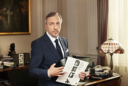 Minister Bogdan Zdrojewski. fot. Andrzej Wiktor