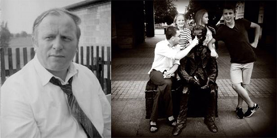 na zdjęciu: Jan Gosz,  fot. z archiwum rodzinnego | Uczniowie Gimnazjum im. Józefa Piłsudskiego w Sierakowicach na warsztatach filmowych w Łodzi