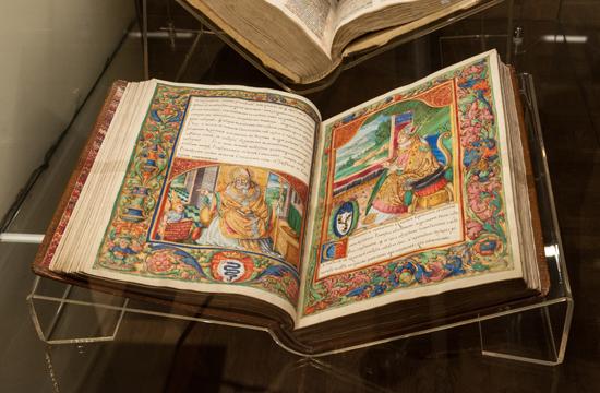 Na zdjeciu: Wnętrza wystawy Lux in Oriente – Lux ex Oriente. Polska i Stolica Apostolska – 1050 lat historii. zdjęcia z materiałów prasowych organizatora