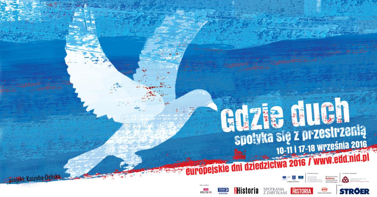 Na zdjęciu: Plakat Europejskie Dni Dziedzictwa