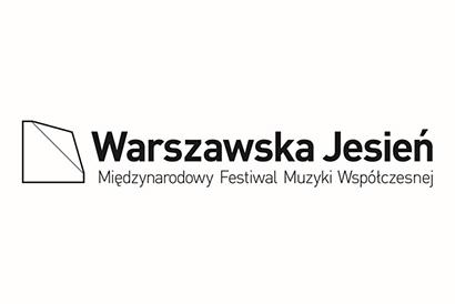 logo festiwalu warszawska jesień