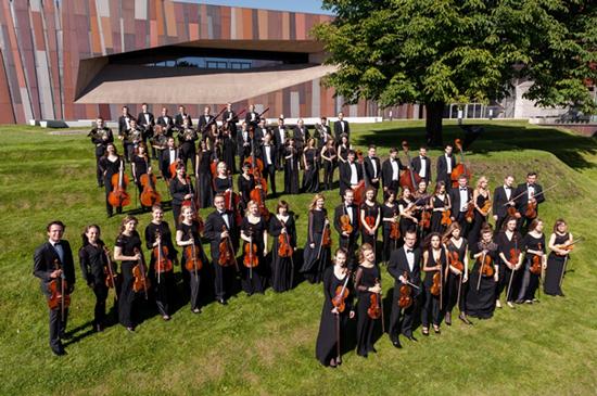 Na zdjęciu: skład orkiestry Sinfonia Iuventus