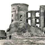 Ruiny królewieckiego zamku w 1969 r. (Valujev A. 2008, ryc. 1).