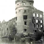 Ruiny królewieckiego zamku w 1968 r. (Valujev A. 2008, ryc. 2).