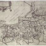 Mapa Prus Caspara Hennenbergera – XVII-wieczna edycja (Nowakiewicz T. 2008, ryc. 1).