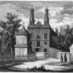 Wiłkowyszki, now Vilkaviškis, Lithuania. The church in 1868. (Na lewym brzegu Niemna 2006, Fig. 26).