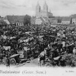 Władysławów, now Vladislavovas, Lithuania. Market day (Na lewym brzegu Niemna 2006, Fig. 139).